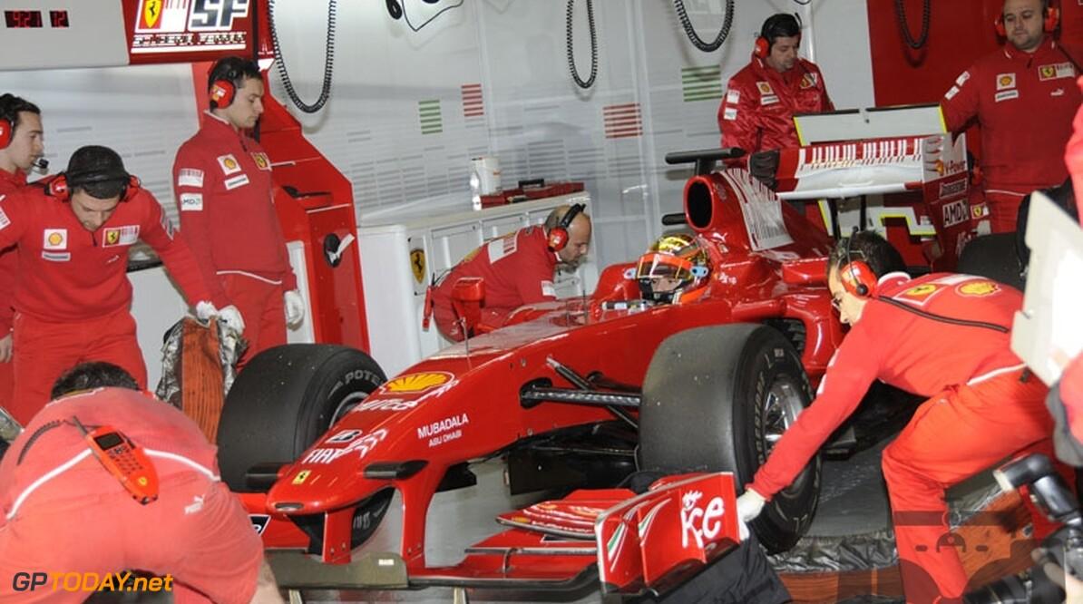 Geen Formule 1-rol voor Bianchi bij Ferrari in 2010