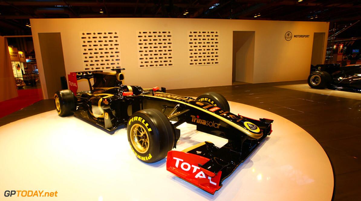 Lotus Renault GP onthult definitieve livery voor 2011