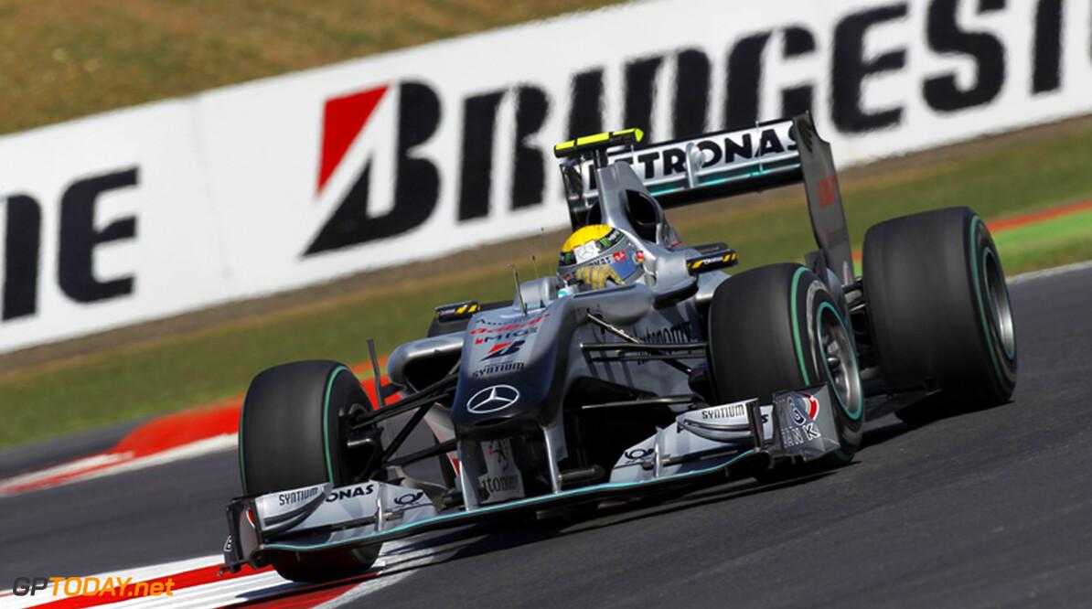 Nico Rosberg erg tevreden met podiumplaats in Engeland