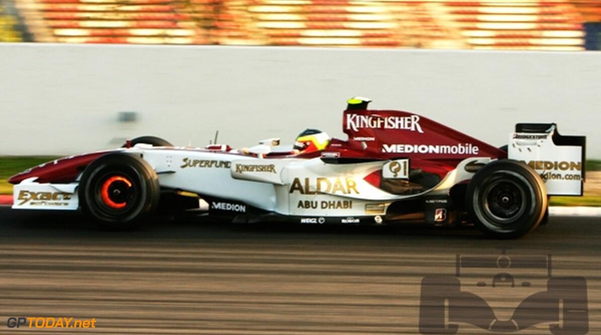 Van der Garde en Rodriguez maken zich nuttig voor Force India