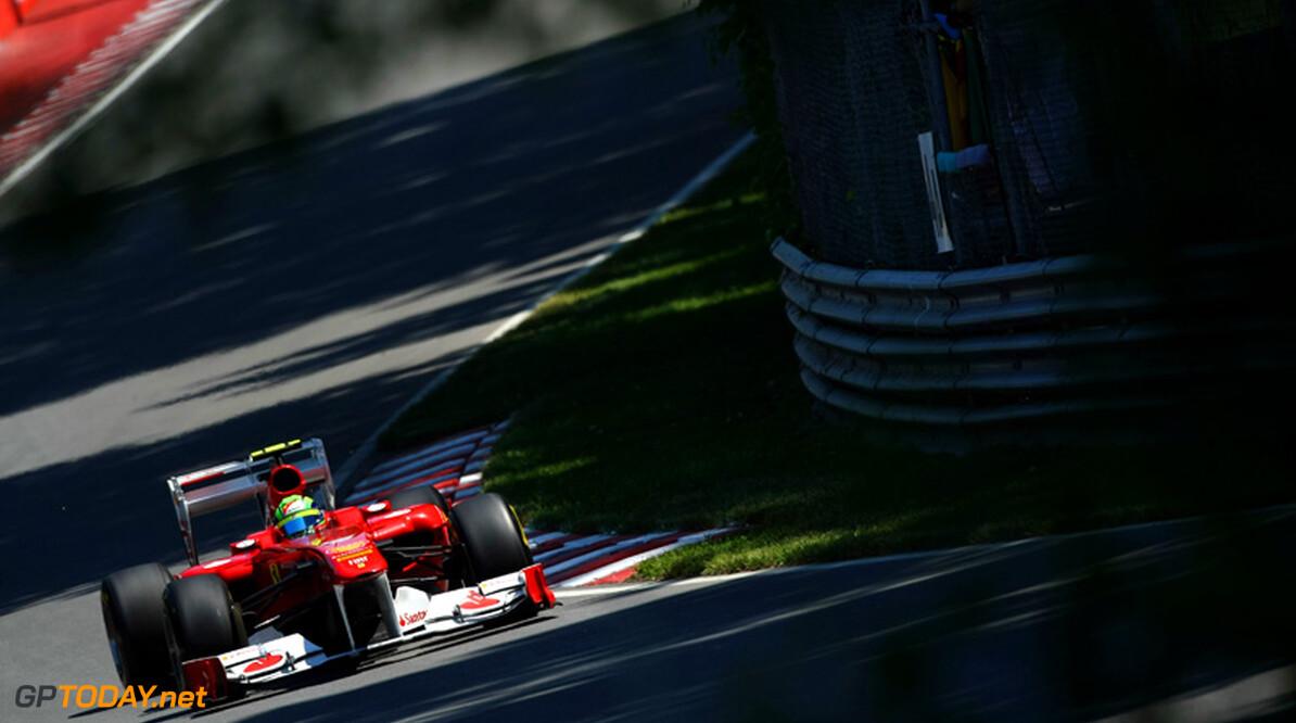 Ferrari met aangepaste achtervleugel op jacht naar McLaren