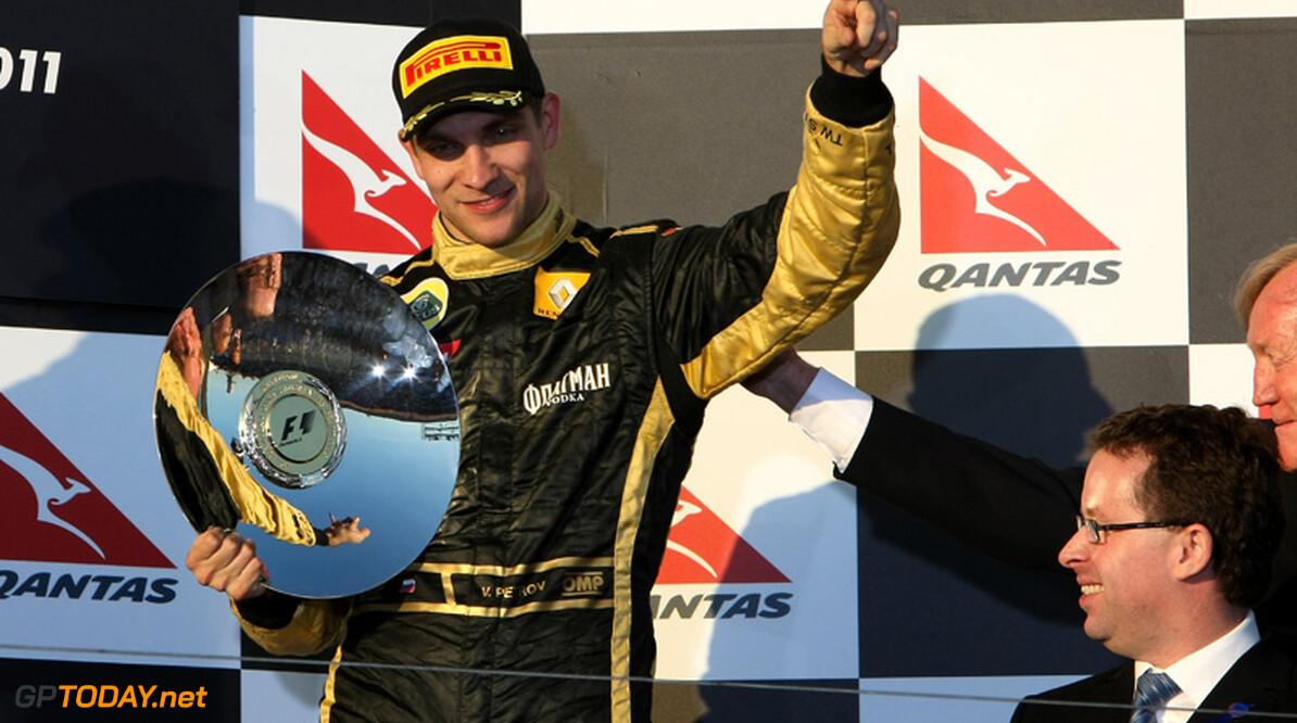 "Lotus Renault GP na podiumplek: ""Trots, blij en opgelucht"""