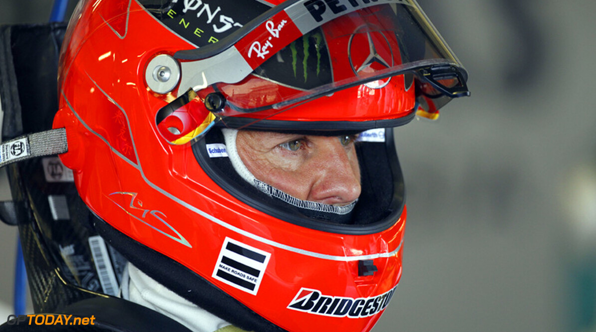Schumacher's wife thanks fans for all their compassion