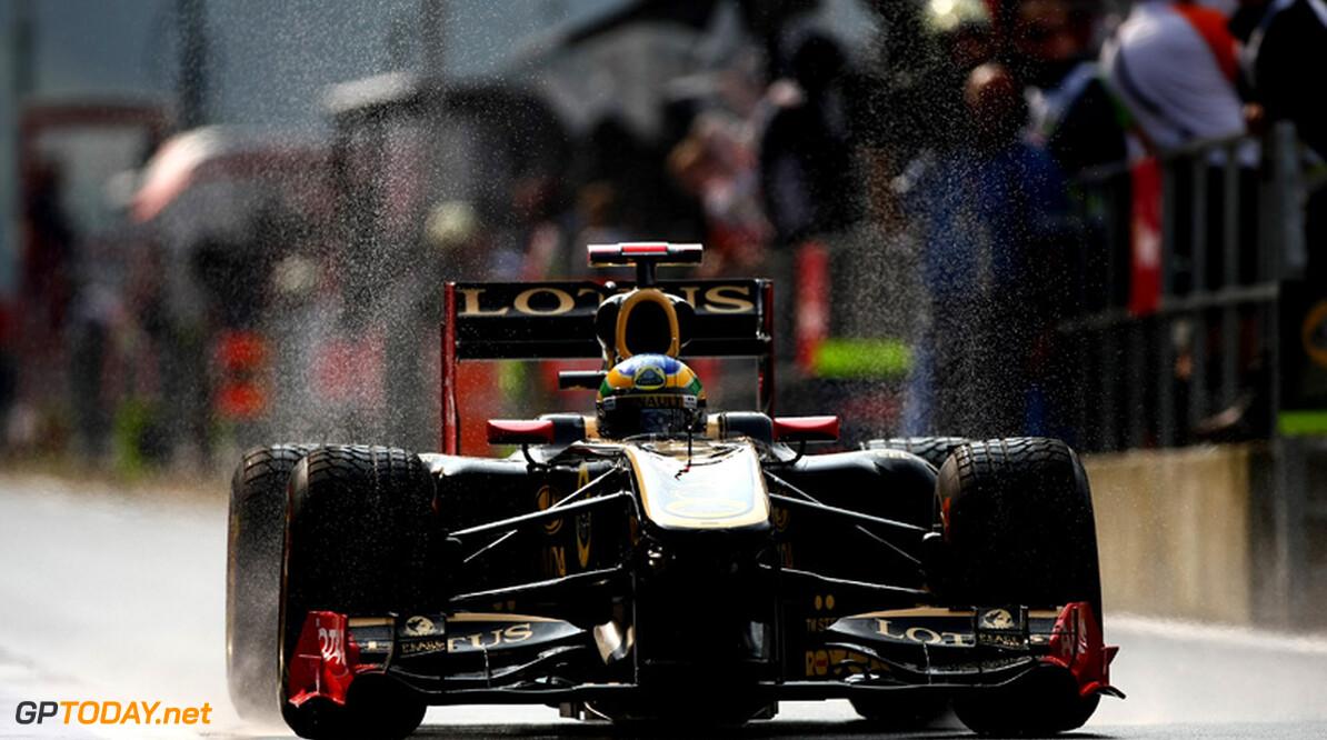 Bruno Senna verspeelt puntenfinish in eerste bocht