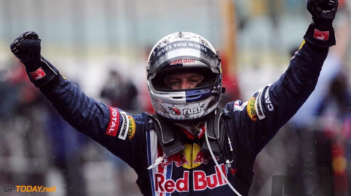 Sebastian Vettel wint Grand Prix van China
