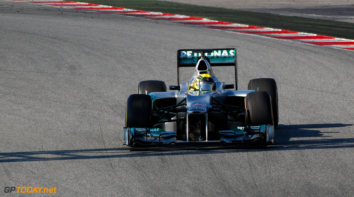 """Actieve Nico Rosberg: """"Veel geleerd op deze testdag"""""""