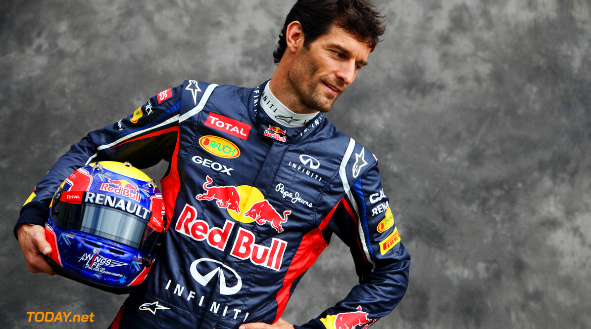 141015472KR273_F1_Grand_Pri MELBOURNE, AUSTRALIA - MARCH 15:  Mark Webber of Australia and Red Bull Racing attends the drivers portrait session during previews to the Australian Formula One Grand Prix at the Albert Park circuit on March 15, 2012 in Melbourne, Australia.  (Photo by Andrew Hone/Getty Images) *** Local Caption *** Mark Webber F1 Grand Prix Of Australia - Previews Andrew Hone Melbourne Australia  Formula One Racing F1