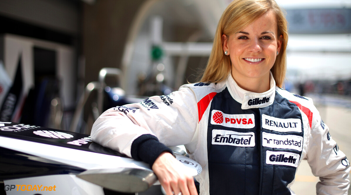 Susie Wolff excited after first taste of F1 testing