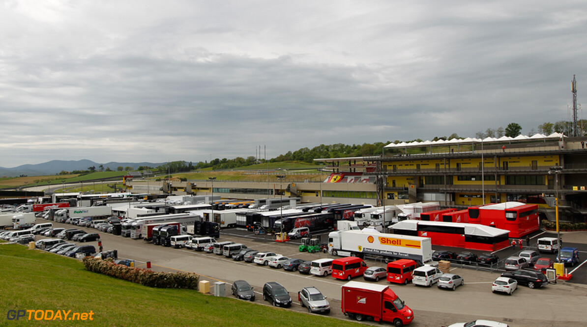 First exclusive pictures from preparations for Mugello test
