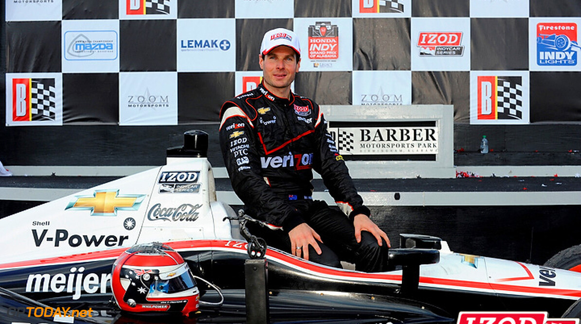 "2012 IndyCar Barber Priority 30 March - 1 April, 2012, Birmingham, Alabama USA.Winner Will Power (#12) and crew in Victory Lane..(c)2012, F. Peirce Williams.LAT Photo USA.IMAGE COURTESY OF INDYCAR FOR EDITORIAL USAGE ONLY.  MANDATORY CREDIT: ""INDYCAR/LAT USA"""