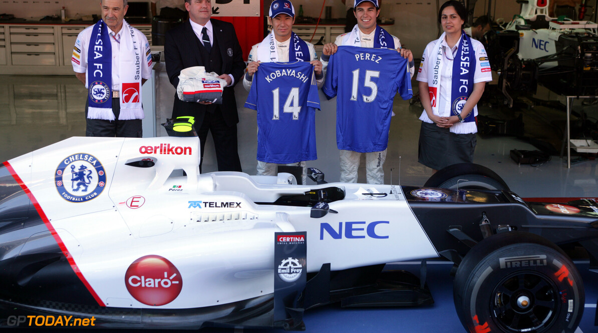 Sauber and Chelsea to announce joint sponsor soon
