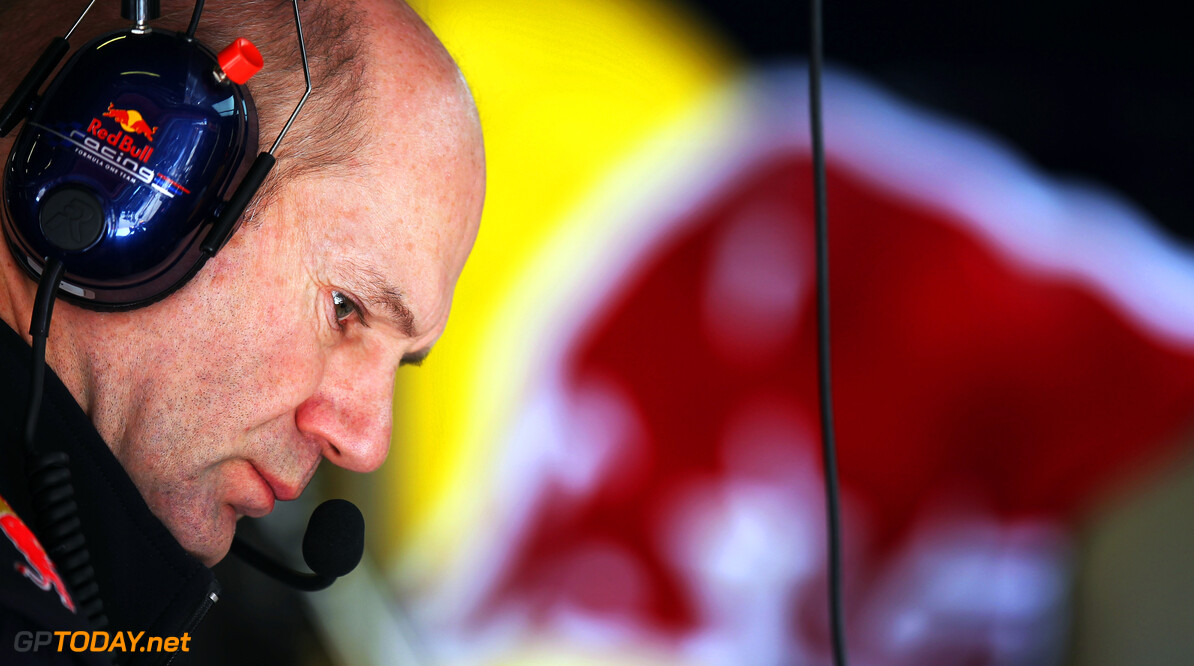 141017285KR049_Spanish_F1_G BARCELONA, SPAIN - MAY 11:  Red Bull Racing Chief Technical Officer Adrian Newey is seen during practice for the Spanish Formula One Grand Prix at the Circuit de Catalunya on May 11, 2012 in Barcelona, Spain.  (Photo by Mark Thompson/Getty Images) *** Local Caption *** Adrian Newey Spanish F1 Grand Prix - Practice Mark Thompson Barcelona Spain  Formula One Racing F1