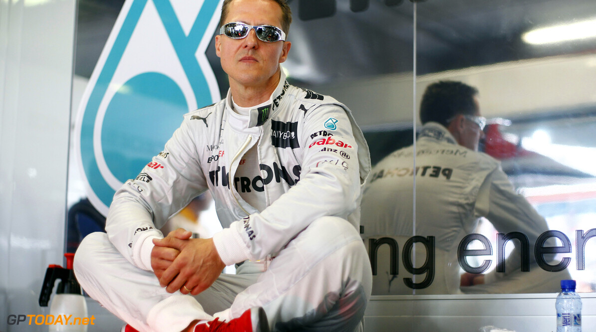 Tyre war would mean 'decent tyres' in F1 - Schumacher