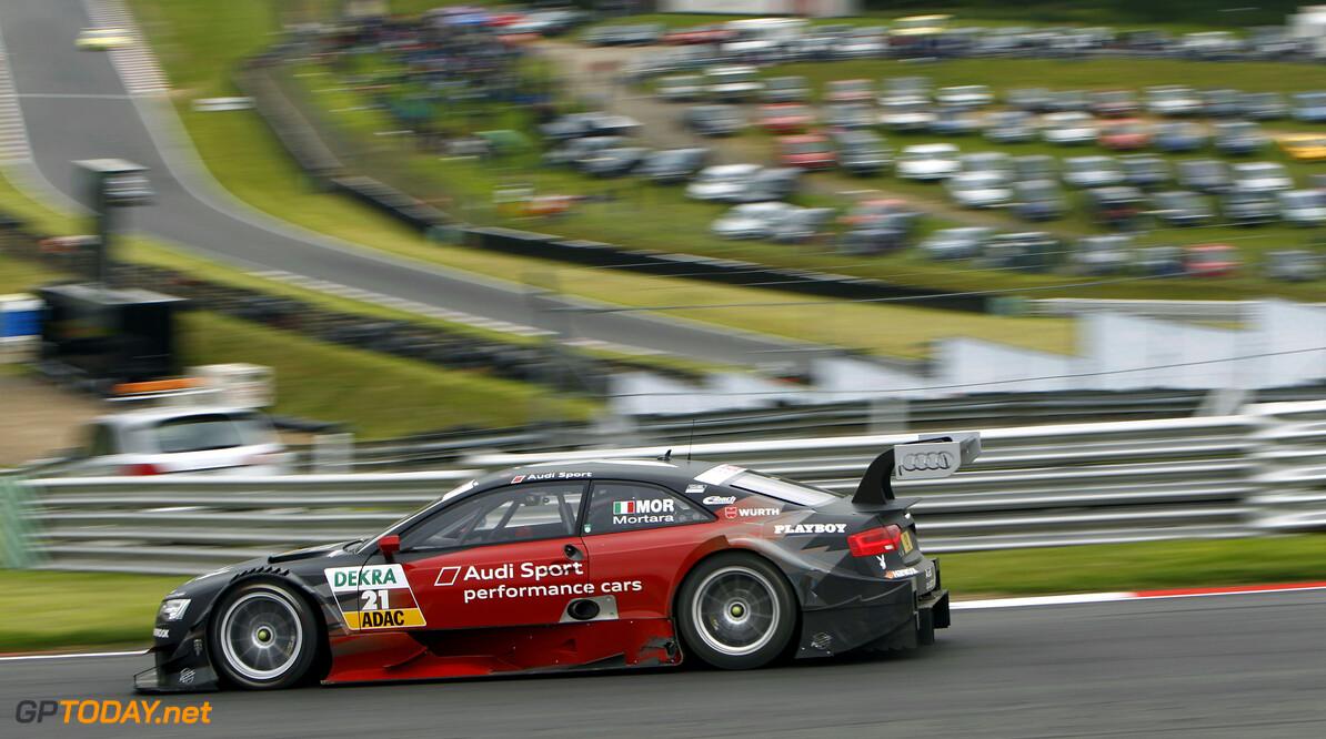 #21, Edoardo Mortara (Team Rosberg, Playboy Audi A5 DTM (2012))