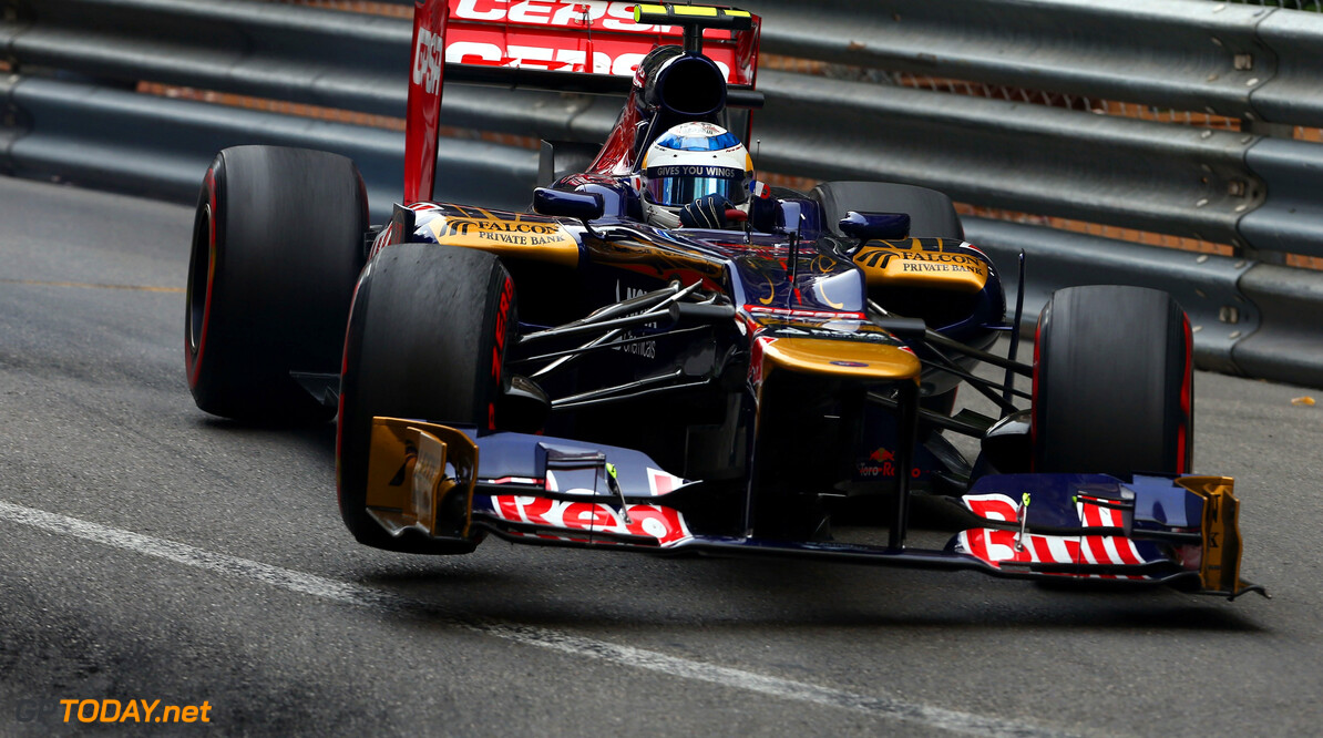 141017418KR125_Monaco_F1_Gr MONTE CARLO, MONACO - MAY 27:  Jean-Eric Vergne of France and Scuderia Toro Rosso drives during the Monaco Formula One Grand Prix at the Circuit de Monaco on May 27, 2012 in Monte Carlo, Monaco.  (Photo by Clive Mason/Getty Images) *** Local Caption *** Jean-Eric Vergne Monaco F1 Grand Prix - Race Clive Mason Monte Carlo Monaco  Formula One Racing F1