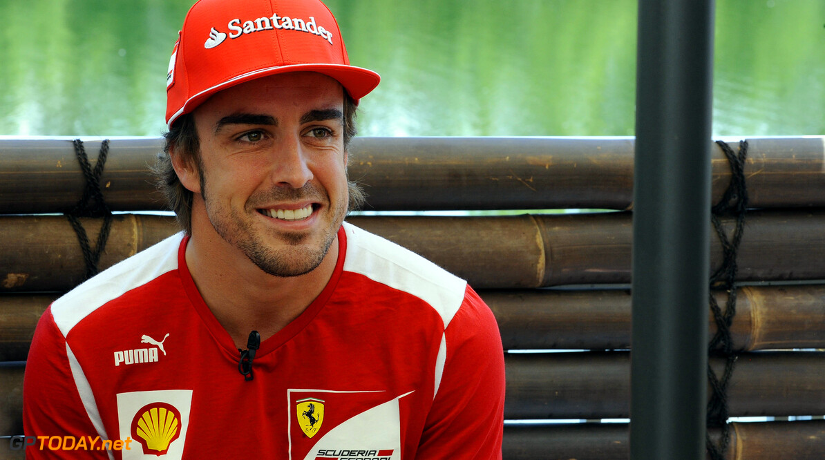 "Alonso: "" Big lead over Hamilton is good news"""