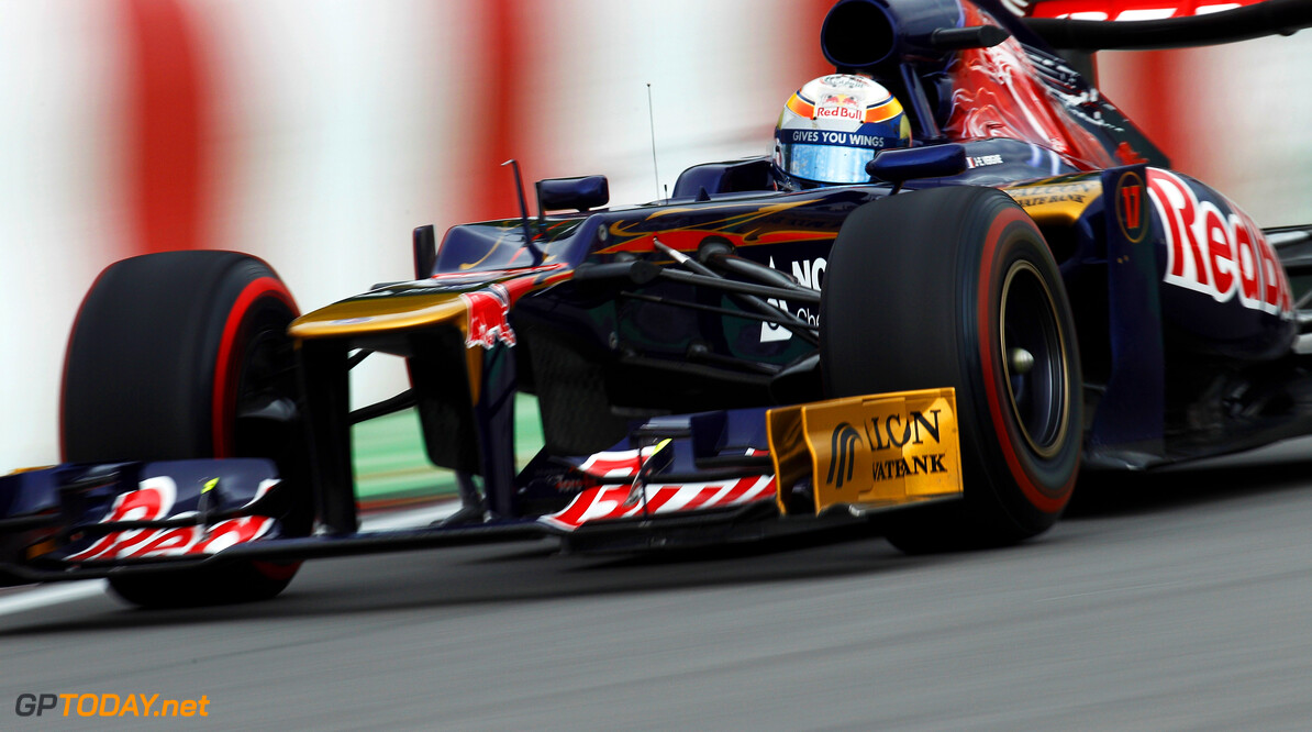 141017525KR218_Canadian_F1_ MONTREAL, CANADA - JUNE 08:  Jean-Eric Vergne of France and Scuderia Toro Rosso drives during practice for the Canadian Formula One Grand Prix at the Circuit Gilles Villeneuve on June 8, 2012 in Montreal, Canada.  (Photo by Paul Gilham/Getty Images) *** Local Caption *** Jean-Eric Vergne Canadian F1 Grand Prix - Practice Paul Gilham Montreal Canada  Formula One Racing F1