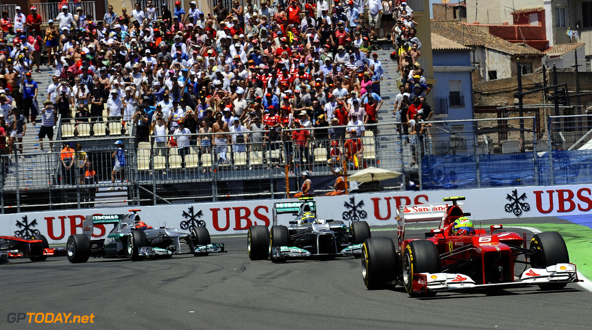 F1 to stream the 2012 European Grand Prix on Saturday