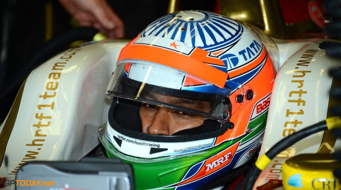 Narain Karthikeyan happy to stay at HRT