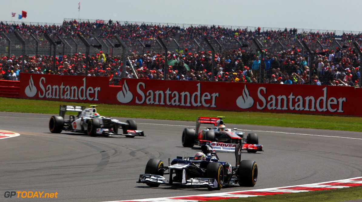 2012 British Grand Prix - Sunday Silverstone, Northamptonshire, England