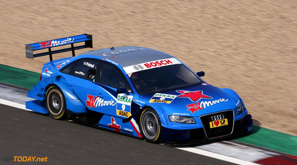 Premat en Audi uit elkaar, O'Young racet in Sjanghai