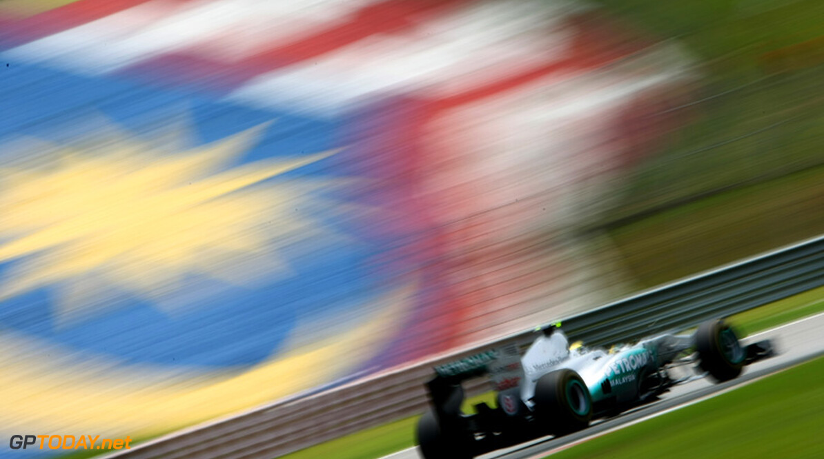 2011 Malaysian Grand Prix - Saturday Sepang, Kuala Lumpur, Malaysia 9th April 2011 Nico Rosberg (GER), Mercedes GP Petronas F1 Team, MGP W02 World Copyright: Andrew Hone / Formula Press / LAT Photographic