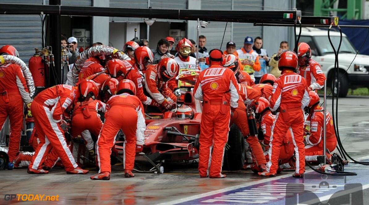 Pitstopmanager Ferrari beschermd door teambaas