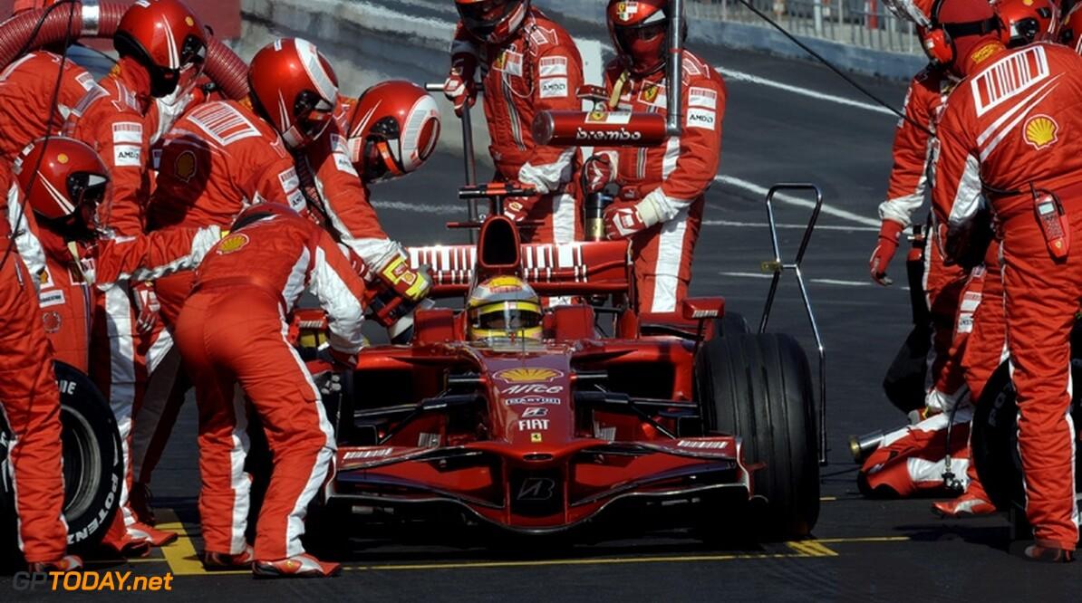 Ferrari doopt auto voor wintertests om tot F2008K