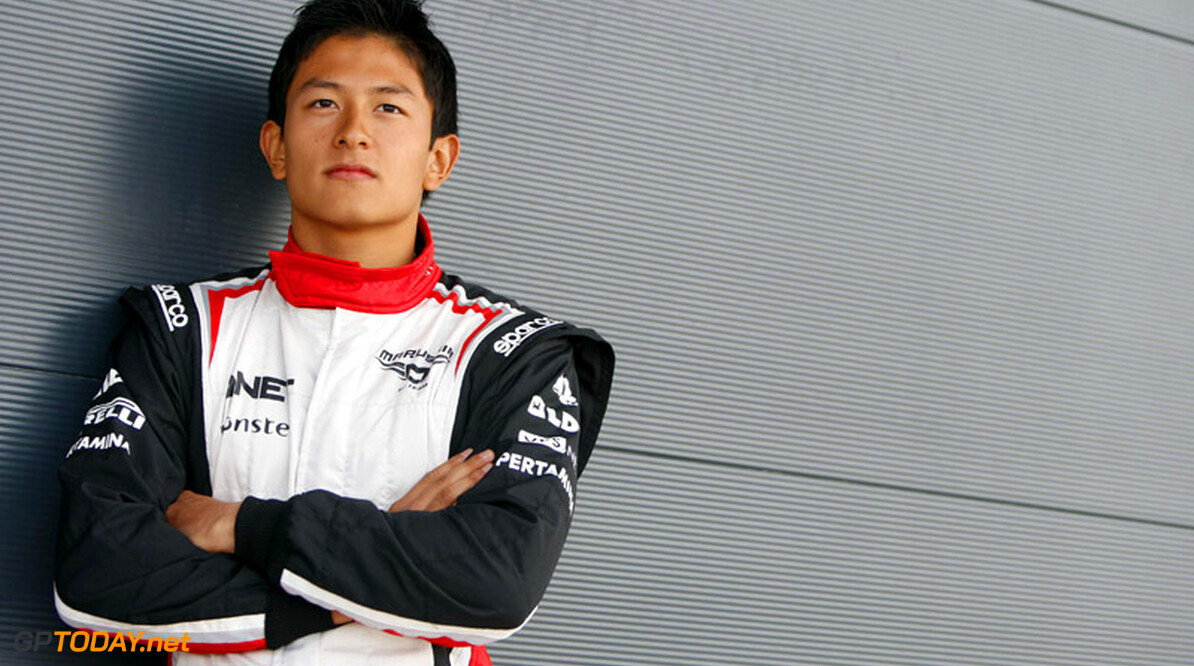 Caterham gives Haryanto test outing at Silverstone