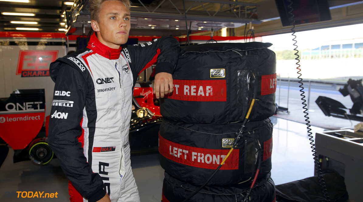 Marussia appoints Max Chilton as reserve driver until Brazil