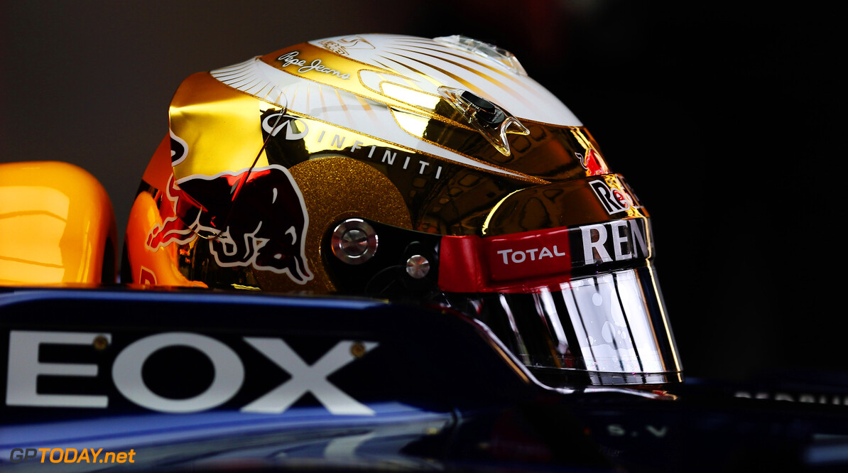 141017773KR00007_F1_Grand_P HOCKENHEIM, GERMANY - JULY 20:  Sebastian Vettel of Germany and Red Bull Racing prepares to drive during practice for the German Grand Prix at Hockenheimring on July 20, 2012 in Hockenheim, Germany.  (Photo by Mark Thompson/Getty Images) *** Local Caption *** Sebastian Vettel F1 Grand Prix of Germany - Practice Mark Thompson Hockenheim Germany  Formula One Racing