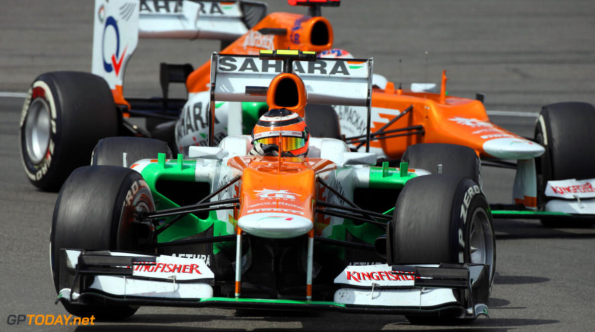 Report - Force India duo racing without pay in 2012?