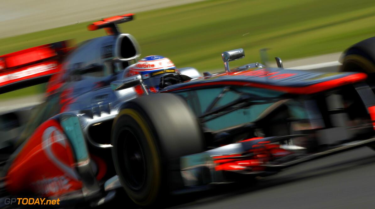 McLaren geeft zich gewonnen en mikt op de tweede plaats