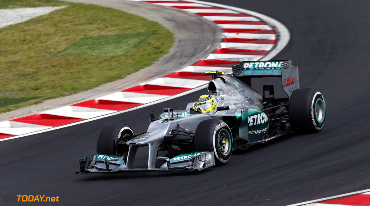 Rosberg thankful to escape unhurt after crash with Karthikeyan