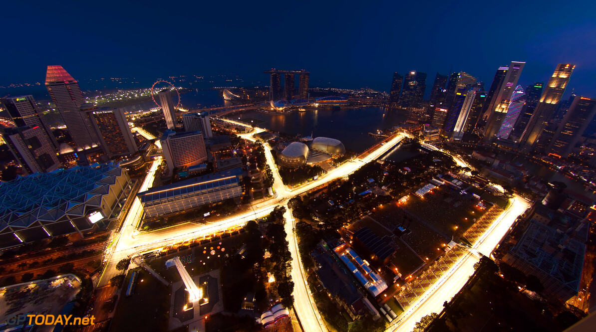 Formula One World Championship An aerial view of the circuit.