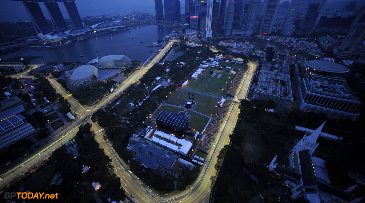 F1 drivers happy with 'Singapore sling' changes