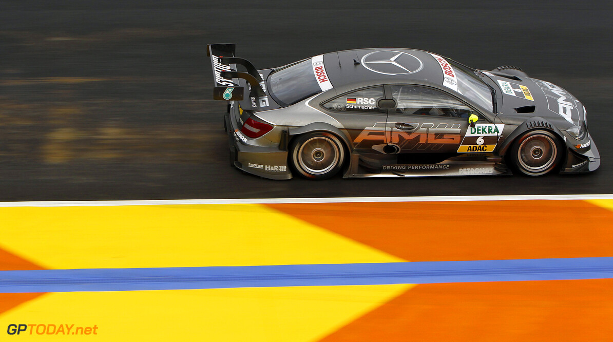 #6, Ralf Schumacher (HWA, Mercedes AMG C-Coupe (2012))