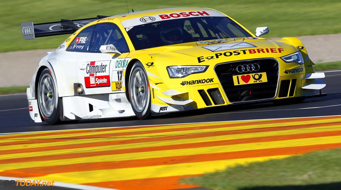 #17, Rahel Frey (Audi Sport Team Abt, E-POSTBRIEF Audi A5 DTM (2012))
