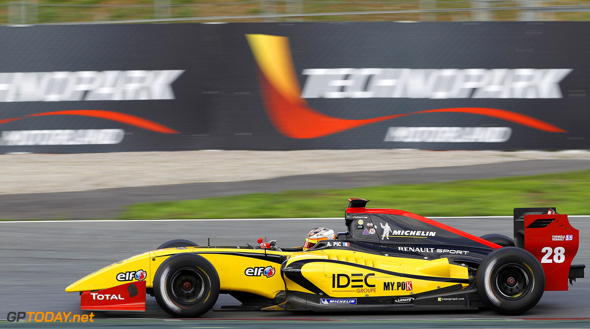 MOTORSPORT -  WORLD SERIES BY RENAULT 2012  - CATALUNYA - BARCELONA (ESP) - 19 TO 21/10/2012 - PHOTO : JEAN MICHEL LE MEUR / DPPI - 