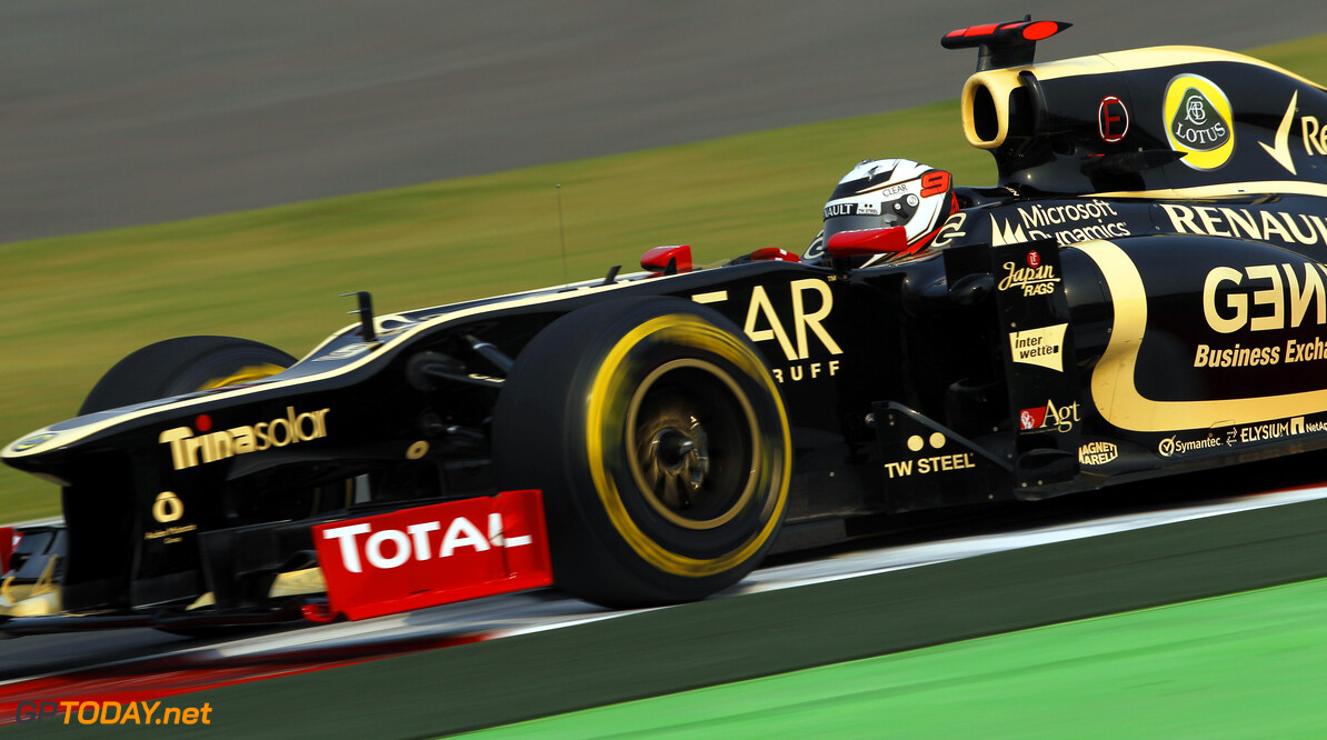 2012 Indian Grand Prix - Friday