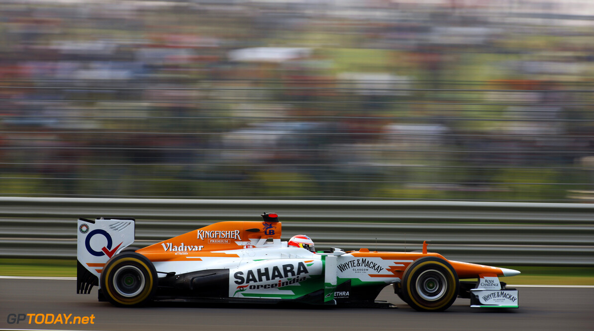 Formula One World Championship Paul di Resta (GBR) Sahara Force India VJM05.