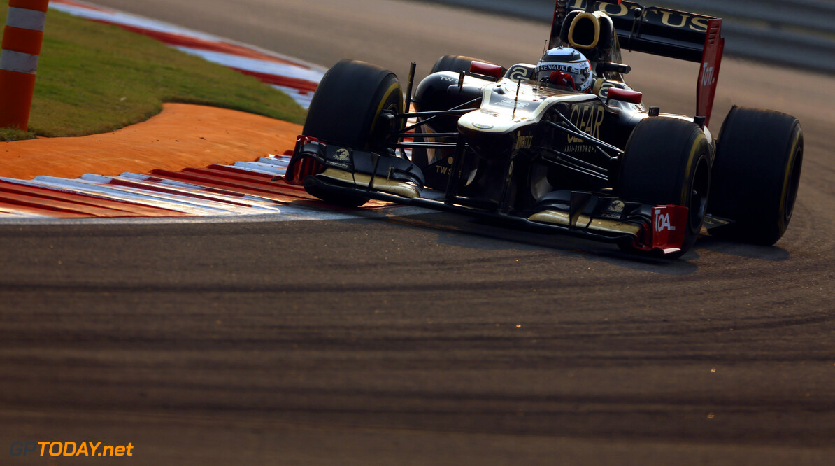 2012 Indian Grand Prix - Sunday