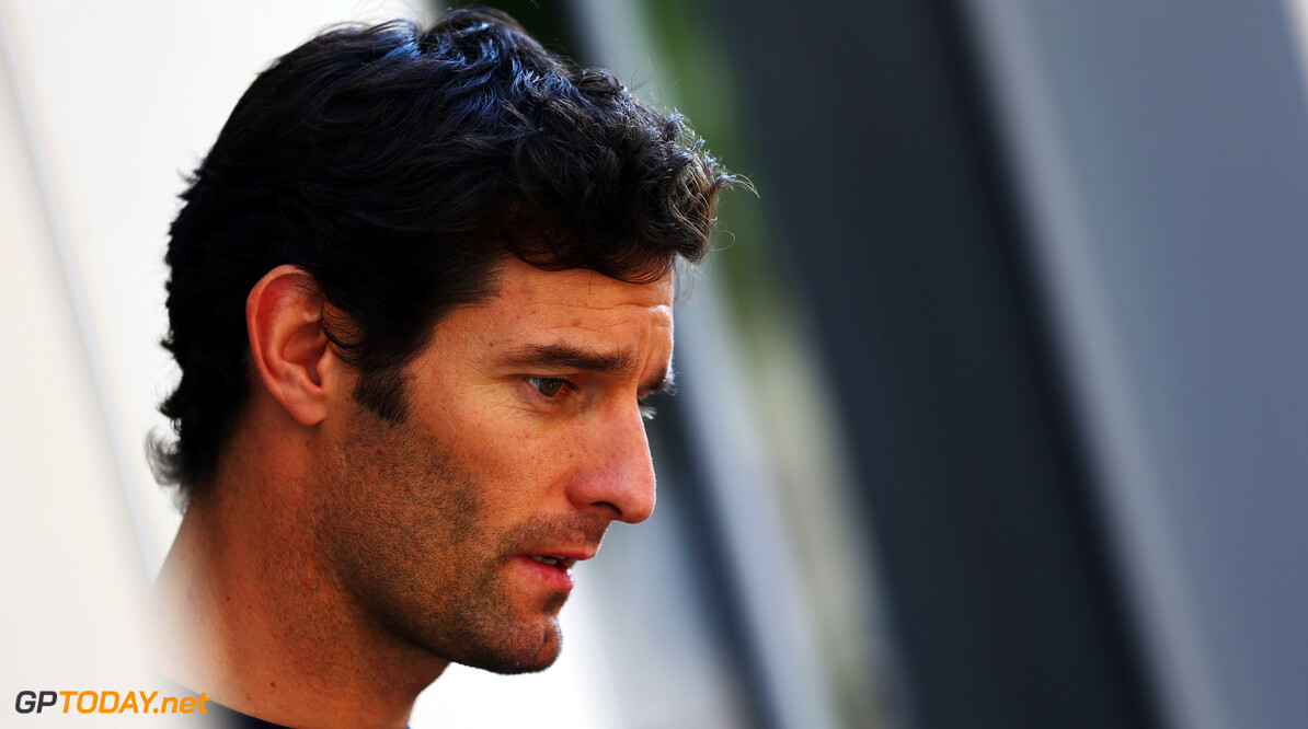 141020718KR00047_F1_Grand_P ABU DHABI, UNITED ARAB EMIRATES - NOVEMBER 01:  Mark Webber of Australia and Red Bull Racing talks to the media during previews for the Abu Dhabi Formula One Grand Prix at the Yas Marina Circuit on November 1, 2012 in Abu Dhabi, United Arab Emirates.  (Photo by Paul Gilham/Getty Images) *** Local Caption *** Mark Webber F1 Grand Prix of Abu Dhabi - Previews Paul Gilham Abu Dhabi United Arab Emirates  Formula One Racing