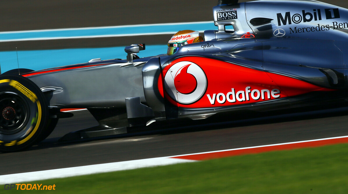FP1: Hamilton just ahead of Vettel, Webber and Button