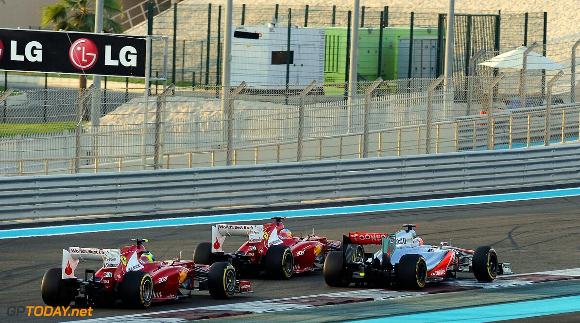Alonso met nieuwe diffuser langzamer dan Massa met oude diffuser