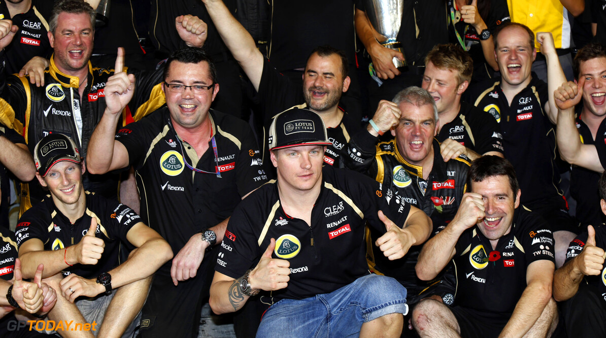 Lotus win helps talks with team investors - Boullier
