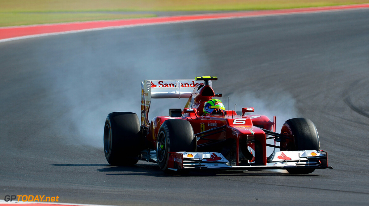 Felipe Massa cried after 'taking punches' in 2012