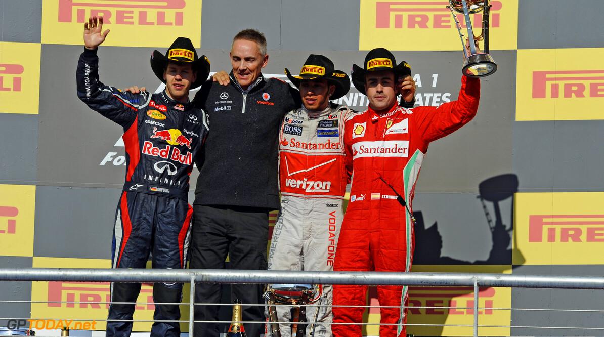 """McLaren: """"Grote Drie zullen in 2013 wederom heersen"""""""
