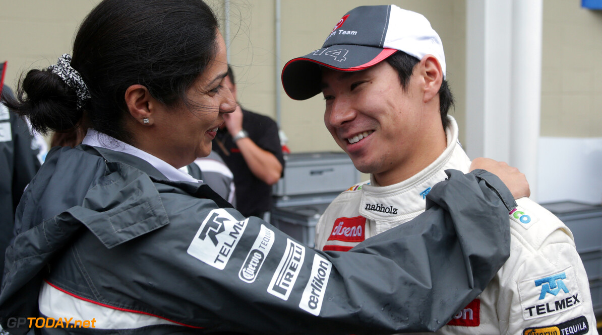 Kamui Kobayashi raises over 600,000 Euro for 2013 seat