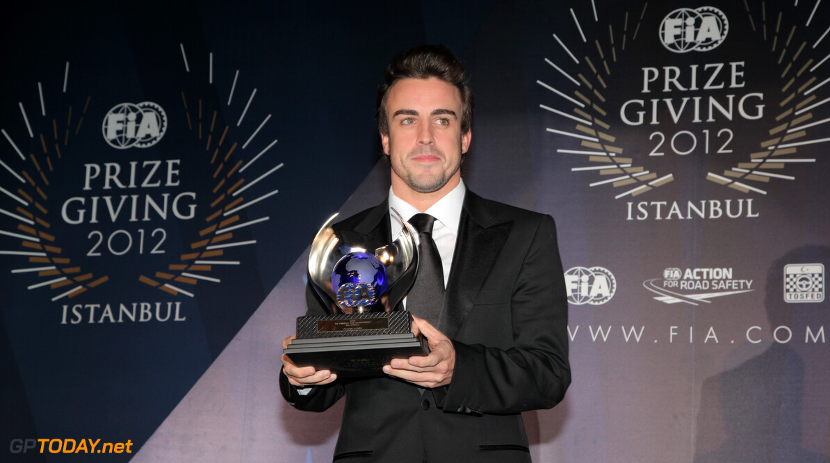 FIA Prize Giving Gala 2012 - Istanbul - FIA Formula One World Championship - Fernando Alonso